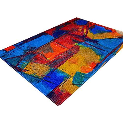 3D Vision Teppich Teppich Wohnzimmer Nordic Abstrakt Sofa Couchtisch Kissen Moderne Minimalist Große Teppichboden Schlafzimmer Home 3D Stereo Mat 02 Rutschfester Teppich