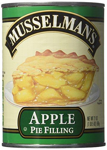 Musselman's Apple Pie Filling net wt 21OZ(pack of 2)