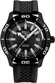 Reloj Automático Ball Fireman NECC, Ball RR1103, Negro, Correa de Caucho