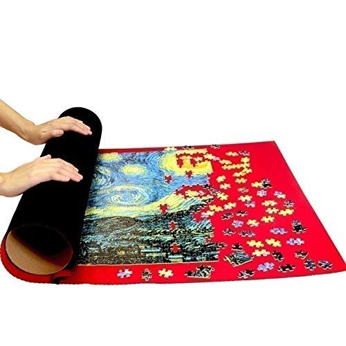 Rompecabezas para Adultos 300 500 1000 Rompecabezas de cartón de Bellas Artes Pastoral Acuarela para la Mejor decoración del hogar AG56 (Color : Puzzle Mat, Size : 300PC)