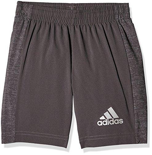 adidas Mädchen Running Shorts, Utility Black/Reflective Silver, 140