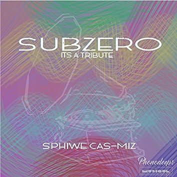 SubZero (It's A Tribute)