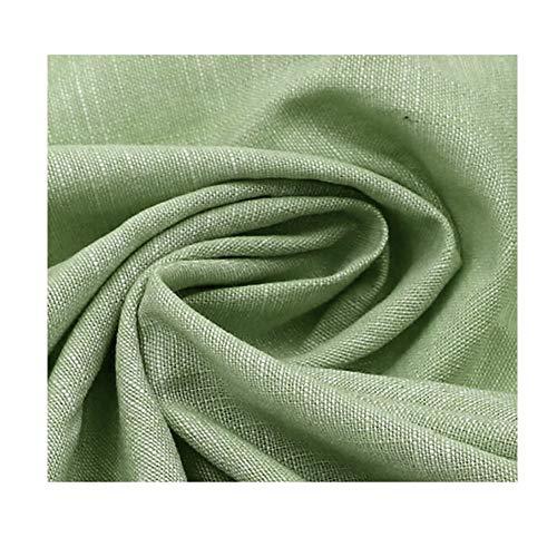 Katoenen denimstof overhemd vrijetijdskleding werkkleding kledingstof katoenen jeugddoek 145 cm breed verkocht per meter (Color : Brown green)