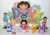 Nickelodeon Dora The Explorer Deluxe Figure Set Toy Playset of 12 with Dora, Boots, Tico, Troll, Parents, Grandma and More! by Dora The Explorer by MarvelousGifts