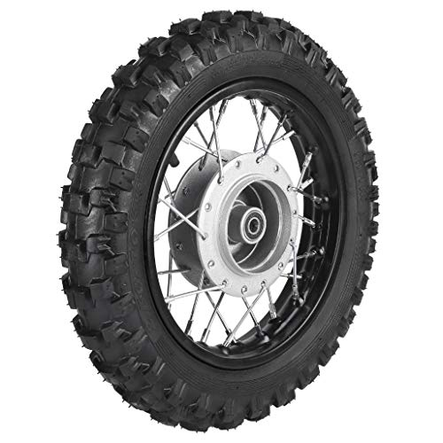 ZXTDR 2.5-10 10' Front Wheel Tire and Rim 1.4 x 10 With 12mm Bearing for 50cc CRF50 XR50 Dirt Pit Bike