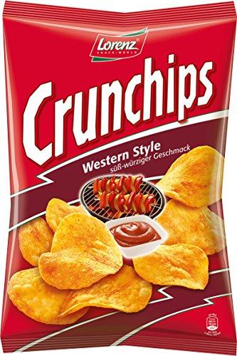 Lorenz Snack World Crunchips Western Style 8er Pack (8 x 175 g)
