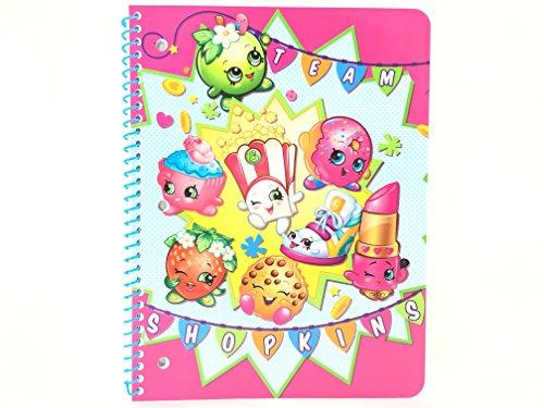 Team Shopkins Subject Notebook 50 Wide Ruled Sheets-ASST-1 Pc