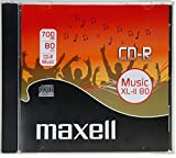 Maxell 624880 - CDs vírgenes (700 MB, 48x)