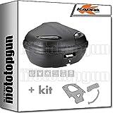 kappa maleta k47nt manta 47 lt + portaequipaje monolock compatible con yamaha n...