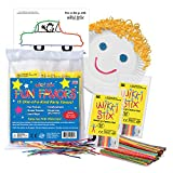 Arts and Crafts for Kids Party Favor Pack, Non-Toxic, Waxed Yarn, Fidget Toy, Reusable Molding and...