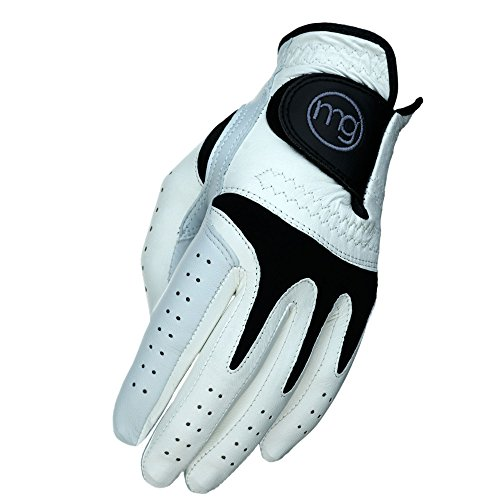 MG Golf Glove Mens TechGrip All-Cabretta Leather (Regular Sizes)