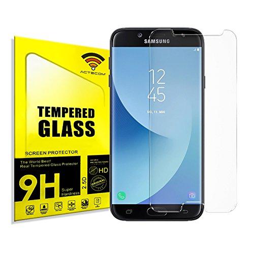 actecom Protector DE Pantalla Compatible con Samsung Galaxy J5 2017 Cristal Vidrio Templado