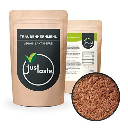 2 kg Traubenkernmehl | Traubenkern Pulver | fein gemahlen | teilentölt | Rohkost | OPC Gehalt | laktosefrei, glutenfrei 2000 g