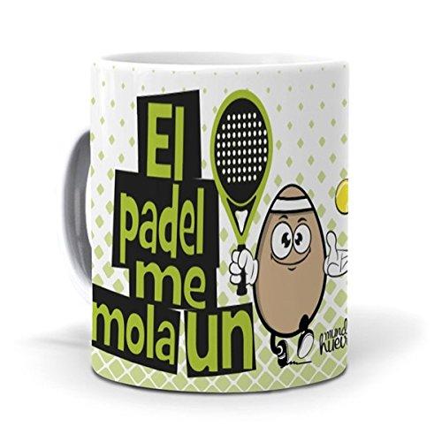mundohuevo Taza El Padel me Mola un Huevo