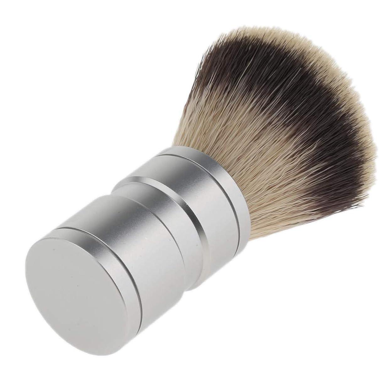火作成するクリスチャンBaoblaze 髭剃りブラシ シェービングブラシ メンズ 理髪店 ヘアサロン メイクブラシ