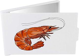 'Shrimp' Compact / Travel / Pocket Makeup Mirror (CM00024328)