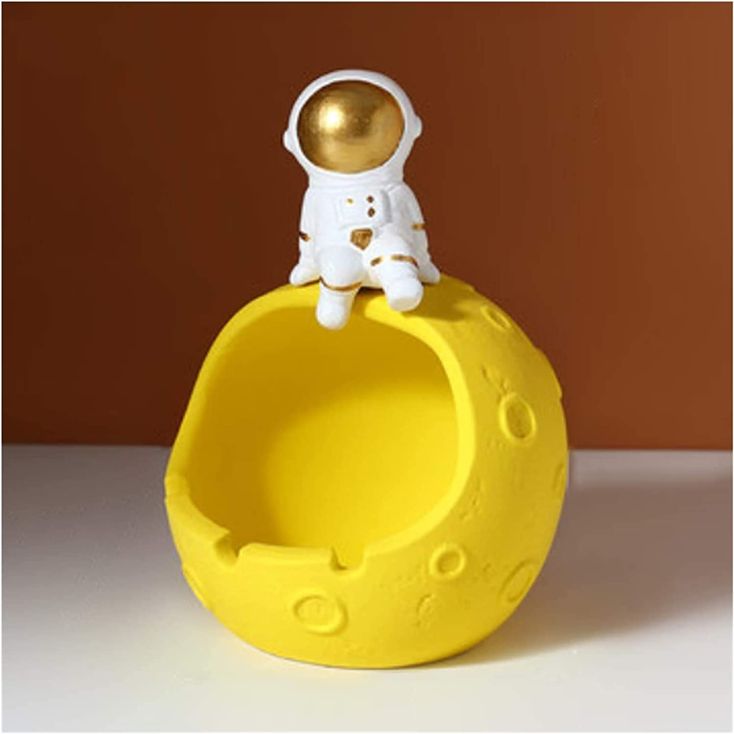 JJDSN Astronaut Ashtray Ceramic Multifunctional Max 66% OFF Quantity limited Cigar