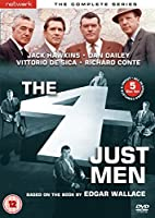 The Four Just Men - Complete Series - 5-DVD Set ( The 4 Just Men ) [ NON-USA FORMAT, PAL, Reg.2 Import - United Kingdom ]