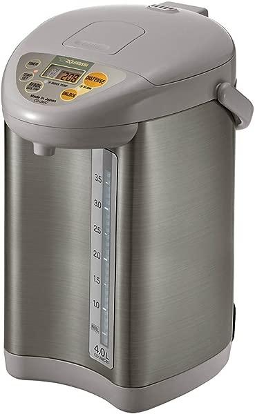 Zojirushi CD JWC40HS Water Boiler Warmer 4 L Silver Gray