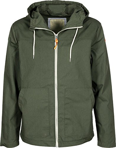 Revolution (RVLT Herren Jacke Jacket Light, Grün (Army), X-Large