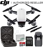 DJI Spark Portable Mini Drone Quadcopter Starters Bundle (Alpine...