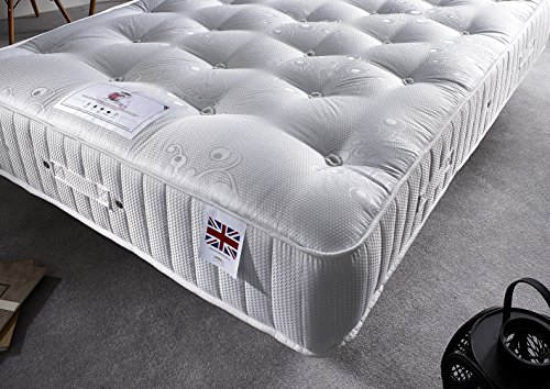 Bed Centre 3000 Diamond Pocket Sprung Medium Firm Mattress (Double (135 x 190 cm))