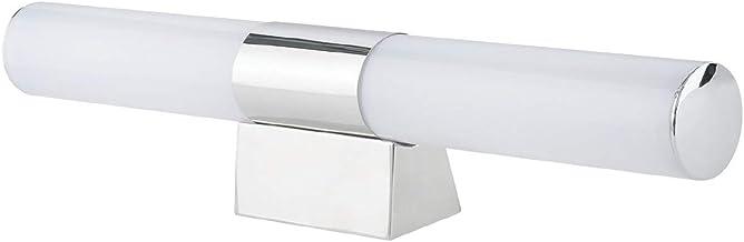 LED Spiegelverlichting - Rond 12W - Natuurlijk Wit 4200K - Glans Chroom Kunststof