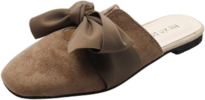 Cdon Mule Slides, Womens Backless Slip On Loafers Tassels Pointed Toe Slipper shoes