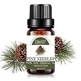 Elite99 Aceites Esenciales, Aceites Esenciales para Humidificadores de Agujas de pino, Aceites de Aromaterapia 100% Puros 10ml