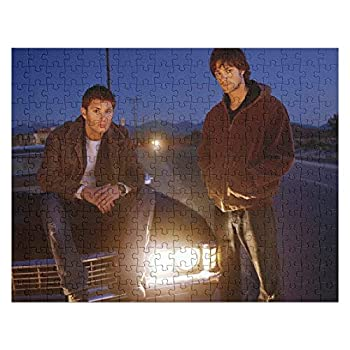 1 Season Jared Young Venturesters Impala and Padalecki Car Supernatural Dean Sem Sam Deans Designed Jigsaw Puzzle 252 Pieces 10x14 Inches Non-Toxic for Kids