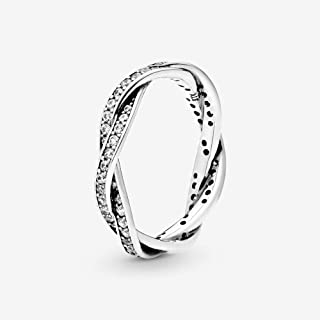 Best pandora twist of fate ring silver Reviews