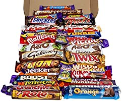 The Ultimate Hand Boxed Luxury Chocolate Hamper - The Perfect Gift for Any Occasion 31 Different Full Size Bars