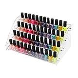 JYSXAD Organizador de Esmalte de uñas Soporte de Esmalte de uñas Soporte de acrílico para Esmalte de uñas Organizador de Botellas de Aceite Joyas (Accesorios)
