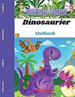 Dinosaurier Malbuch fuer Kinder: Finde den Weg - Aktivitaetsbuch
