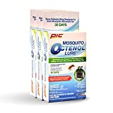 PIC Mosquito Octenol Lure (3 Pack), Attracts Mosquitoes, for Use with Electronic Insect Killers & Traps