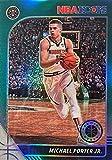 MICHAEL PORTER JR. Basketball Card - 2019-20 Panini NBA Hoops PREMIUM STOCK GREEN PRIZM - Denver Nuggets