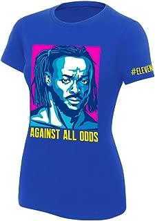 WWE Kofi Kingston Against All Odds Women's Authentic T-Shirt