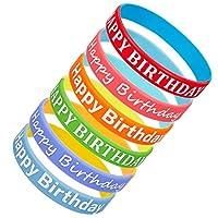 KESYOO 誕生日パーティー おもちゃ 誕生日プレゼント リターンギフト パーティーグッズ リスト バンド 6個セット