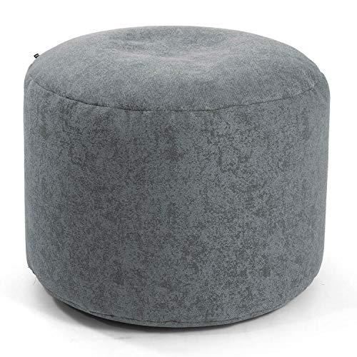 mokebo® Indoor Pouf 'Der Ruhepouf', Leichter Hocker, Sitzpouf & Beistelltisch, Made in Schwarzwald