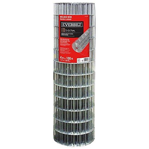 Everbilt 4 ft. x 100 ft. Steel Welded Wire