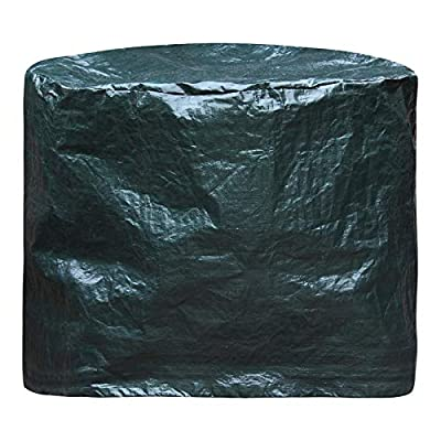 UK-Gardens Medium Waterproof Firepit/Firebowl Cover To Fit Fire Pit Up To 60cm Diameter x 60cm High - Suitable For Clay And Metal Fire Bowl by UK-Gardens