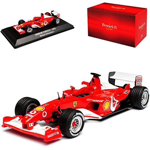 Atlas Ferrari F2003 GA Michael Schumacher Weltmeister Formel 1 1/43 Modell Auto