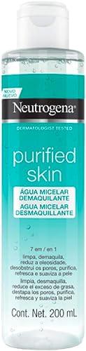 Água Micelar Purified Skin Micelar, Neutrogena, 200ml
