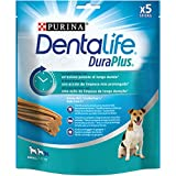 Purina DentaLife Duraplus Snack Cane per l'Igiene Orale, Taglia Small - 5 Confezioni da 170 g Ciascuna