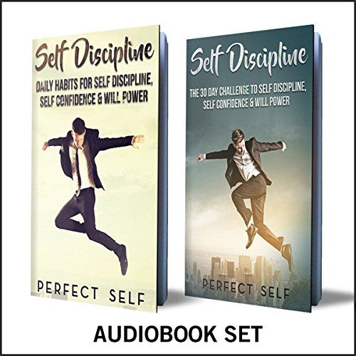 Self Discipline: 2 Books audiobook cover art