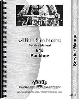 Allis Chalmers 615 Tractor Loader Backhoe Service Manual (Backhoe only)