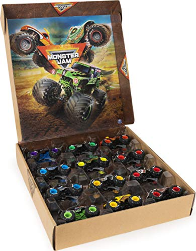 Monster Jam, Official 12-Pack of 1:64 Scale Die-Cast Monster Trucks, Amazon Exclusive (6058352)