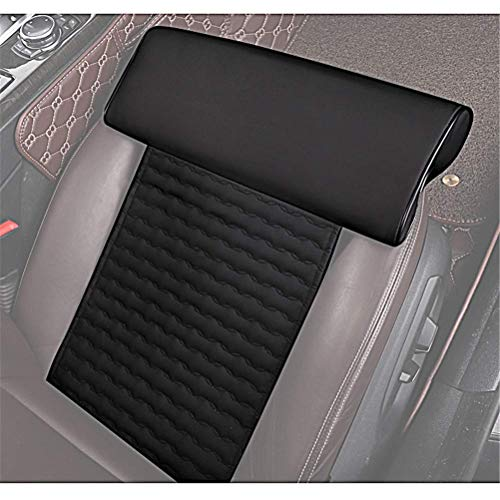Universal Car Extended seat Extender Cushion Leg Support Pillow?Pillow for car Driver seat?Chair Leg Extenders?Leather Knee Pads Long-Distance Driving car Bus Train Office Home Leg Cushion