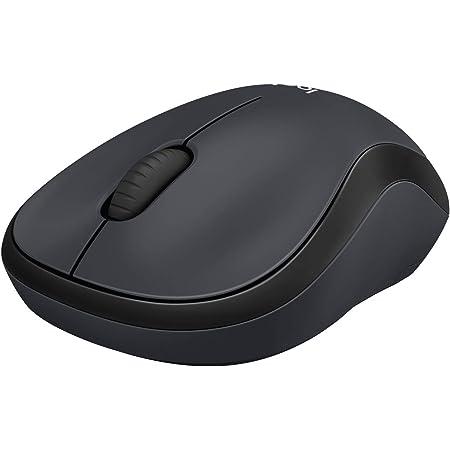 ロジクール ワイヤレスマウス 静音 M220GR 無線 小型 電池寿命最大18ケ月 M220 マウス 無線マウス 静音マウス グレー 国内正規品