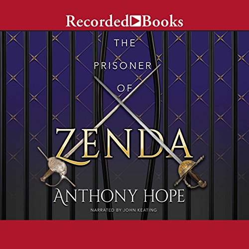 The Prisoner of Zenda audiobook cover art